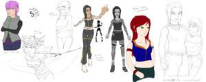 Random Sketches by athorment
