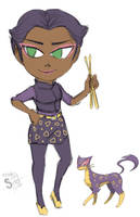 MC-Bandmates Liepard Chica by athorment