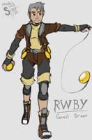 RWBY OC - Greil Brown by athorment