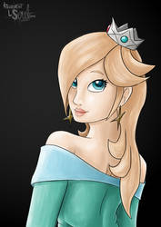 Rosalina commission by athorment