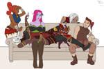 The Villanous Evil Team by athorment