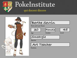 PI - Art Teacher - Berthe Sevrin by athorment