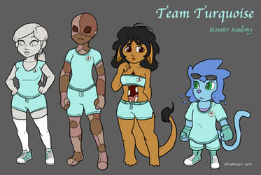 MA - Turquoise Team by athorment