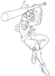 Slugger from Slayers for Hire