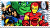 STAMP - Superhero Squad by Emme-Gray