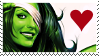 STAMP - She Hulk by Emme-Gray