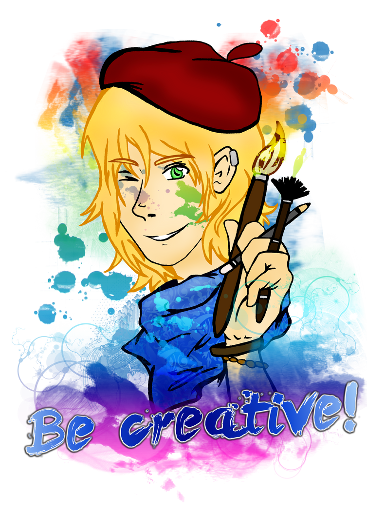 Be creative! by Emme-Gray