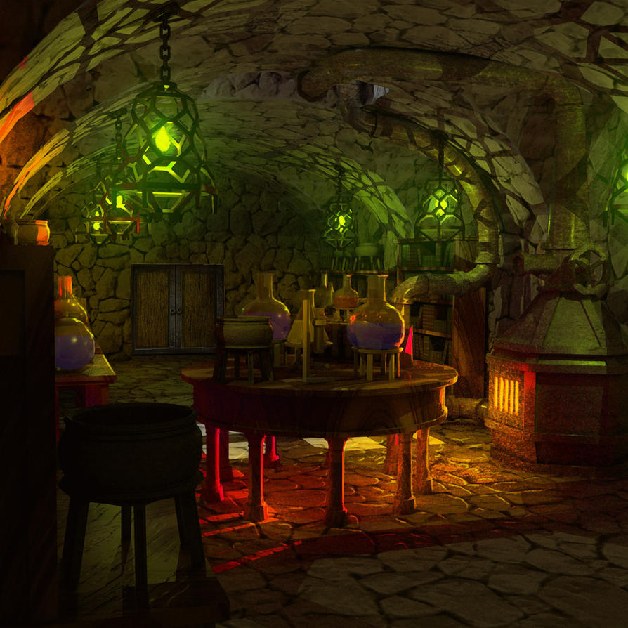 Alchemy room by jonsmith512