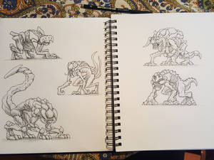 Quadruped Demon concepts