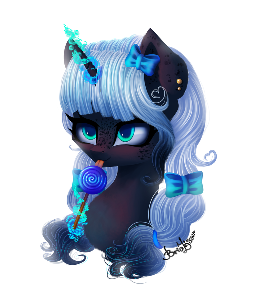 Art mlp| Blacky (Commission) by LikeLike1