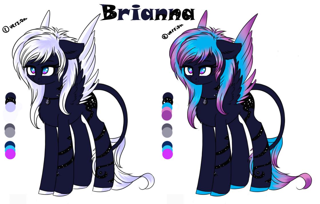 My OC Brianna (Redisign) by LikeLike1