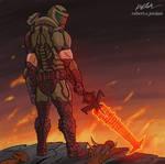 The Doom Slayer-Doom Eternal