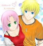 Naruto x Sakura - Young love