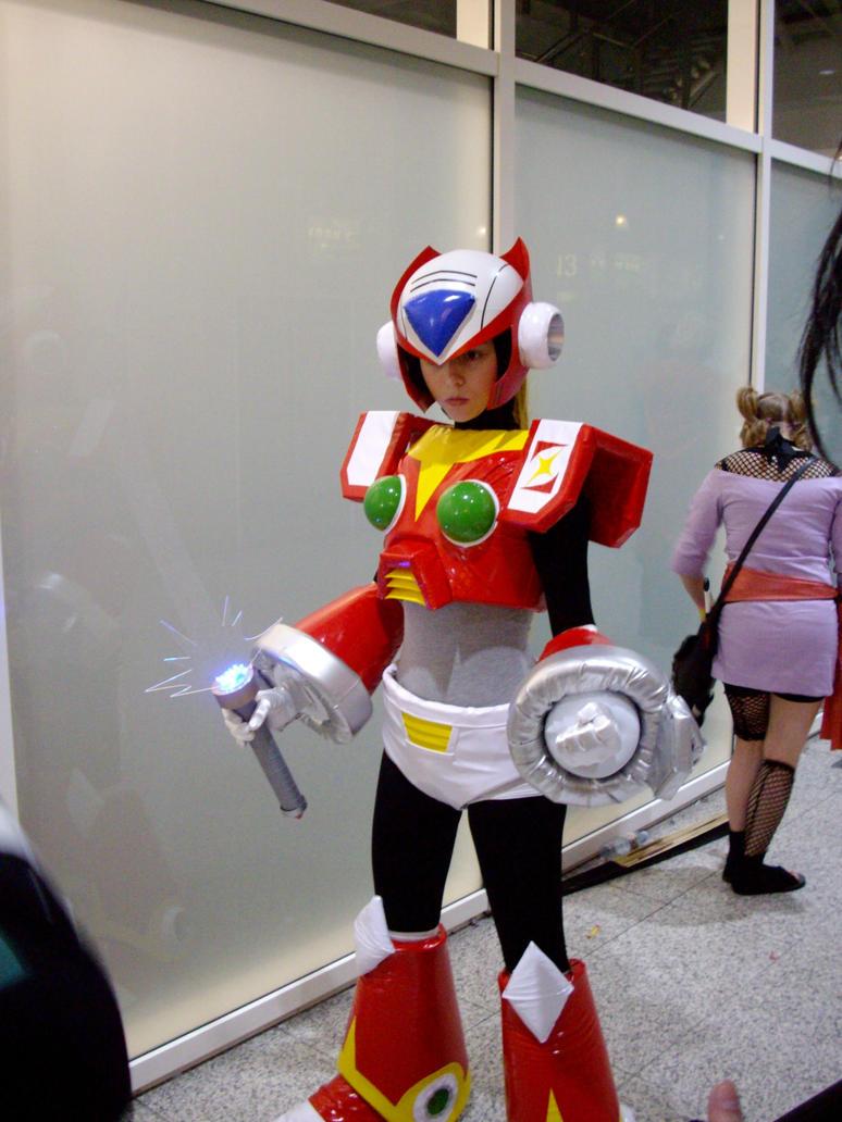 Megaman Cosplay Costume Megaman Zero Costume&form