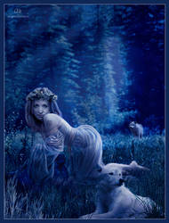 The queen of night wolf