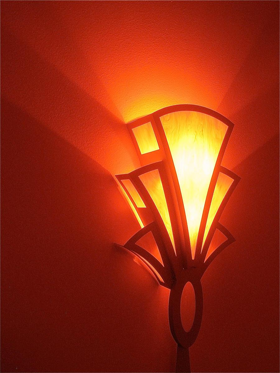 Art deco light fox tucson by davidleeguss on deviantart for Lamps tucson