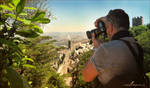 The Great Wall of Sintra by Natmana