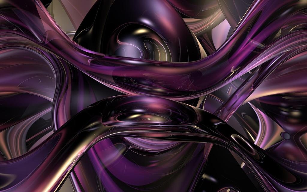 Purple Glass Flow by TexManson