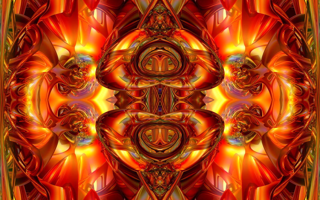 Flaming Pretzel Logic by TexManson