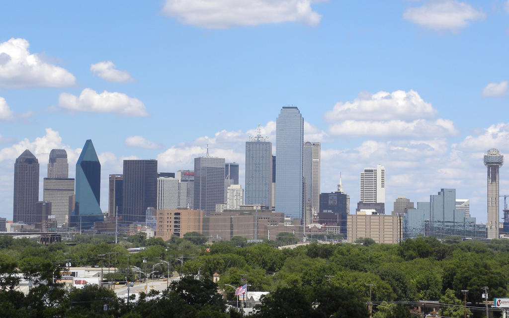 Dallas Skyline 6-25-10 by TexManson
