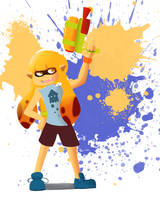 Cutie Splatoon by IkeTheWarrior