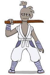 Fakemon: Hitmonken by IkeTheWarrior