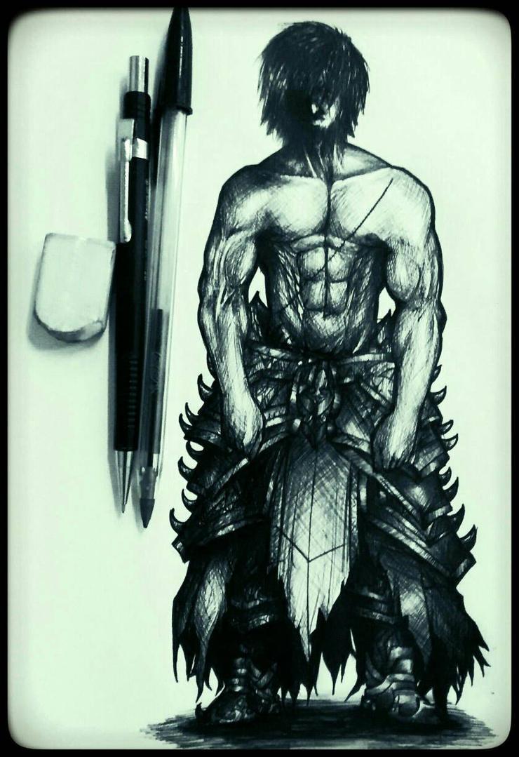 Black_Heavy_Armor by Denishellflame