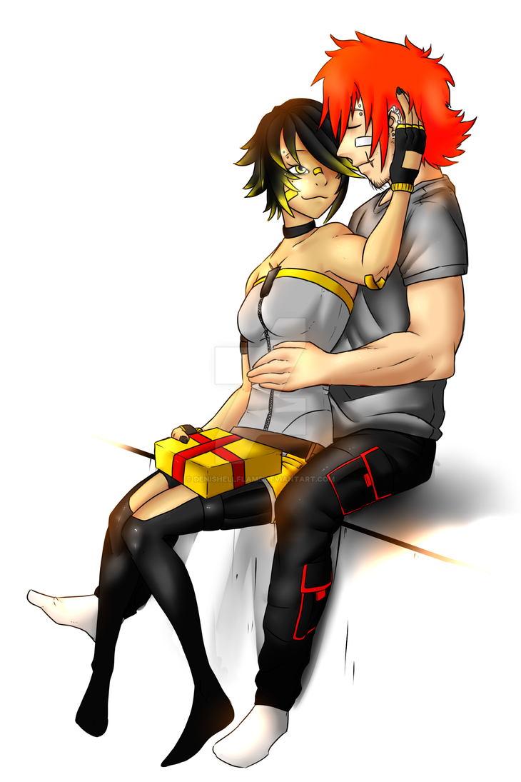 Niliel_and_Renno by Denishellflame