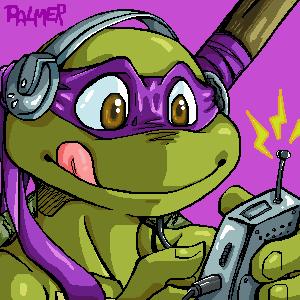 Donatello oekaki by PalAnn