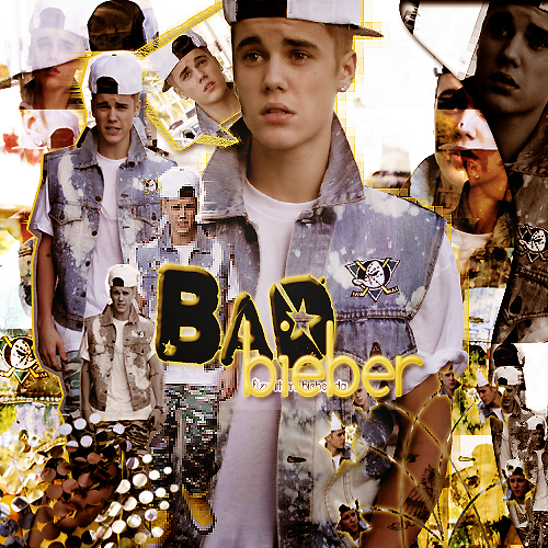 +BadBieber by FlyWithMeBieber