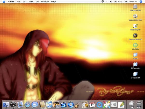 My Desktop- Renji Abarai by Yuraichan