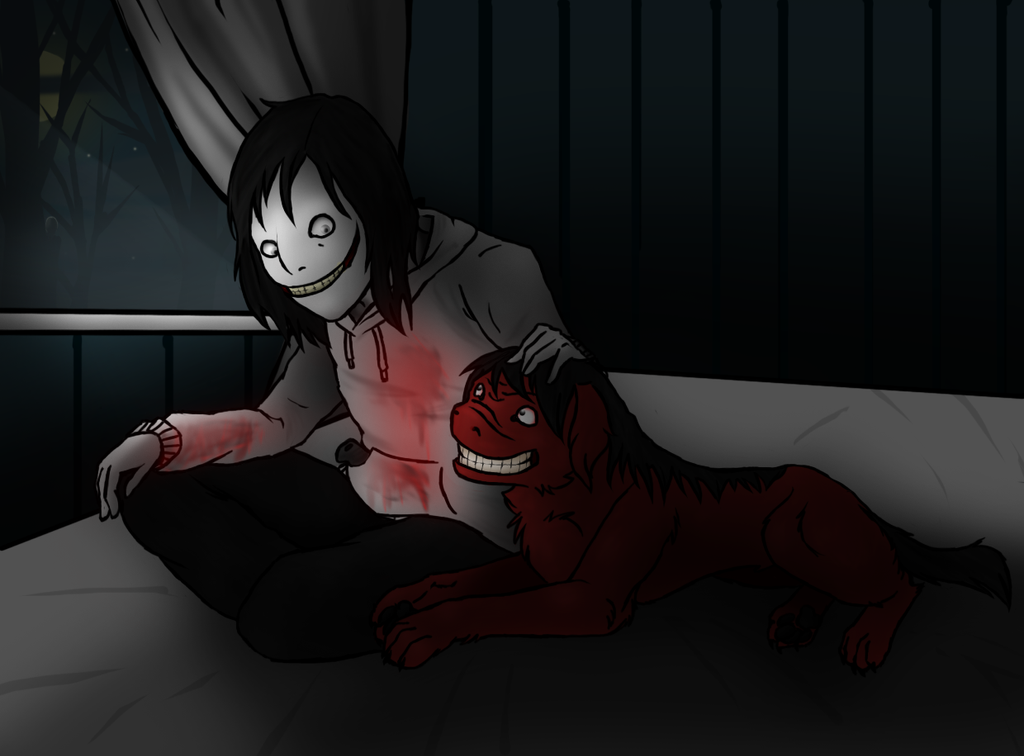 the gallery for gt creepypasta jeff the killer and smile dog