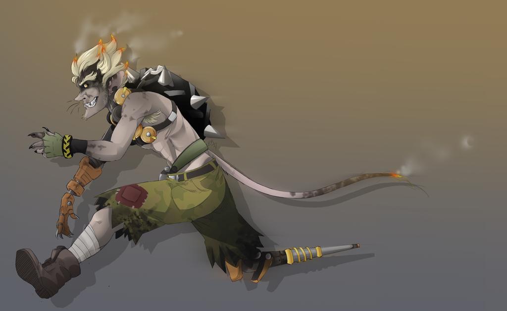 Junkrat - Rat by Emmendal