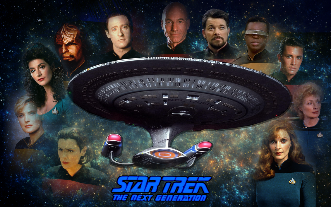 Star trek the next generation images tng crew hd wallpaper and - Star Trek Saga The Next Generation 2 By Camuska On