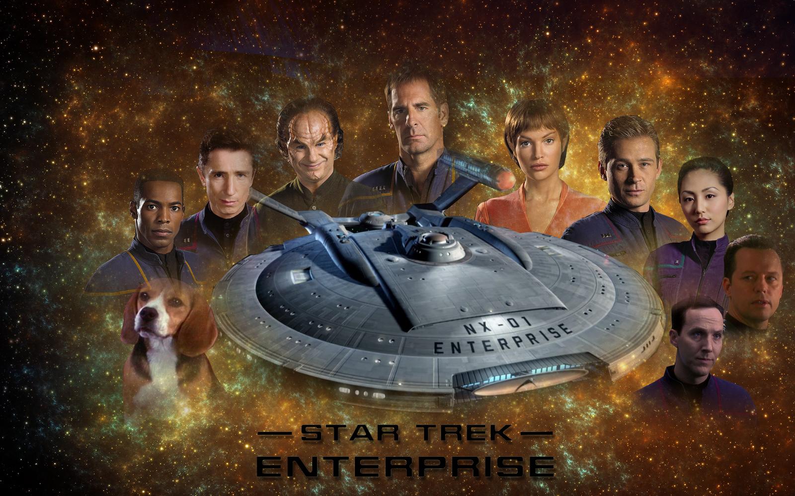 Star Trek Saga - Enterprise by Camuska
