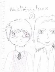 Male!WashXFrance by GraceTheOtaku