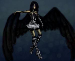 Lets see dem wings gurl