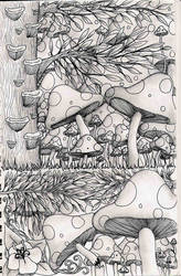 mushrooms mushrooms tralaalaa by 0Necromancer0