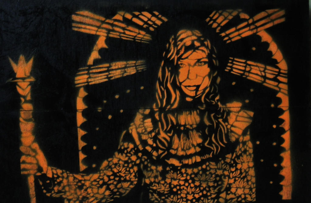 Queen of Orange and Black by Harikah