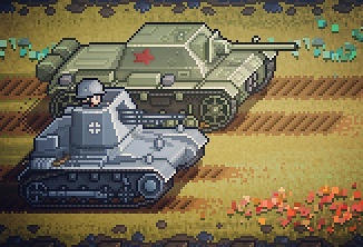 Pixel Panzers - Brothers from Anotha Motha!