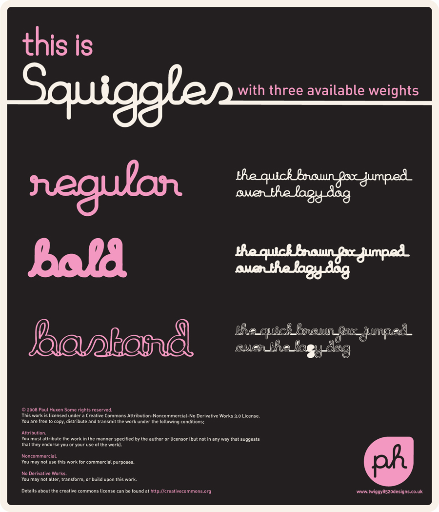 Squiggles Ultimate Pack by Twiggy8520
