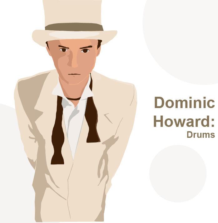 Dominic Howard by Twiggy8520