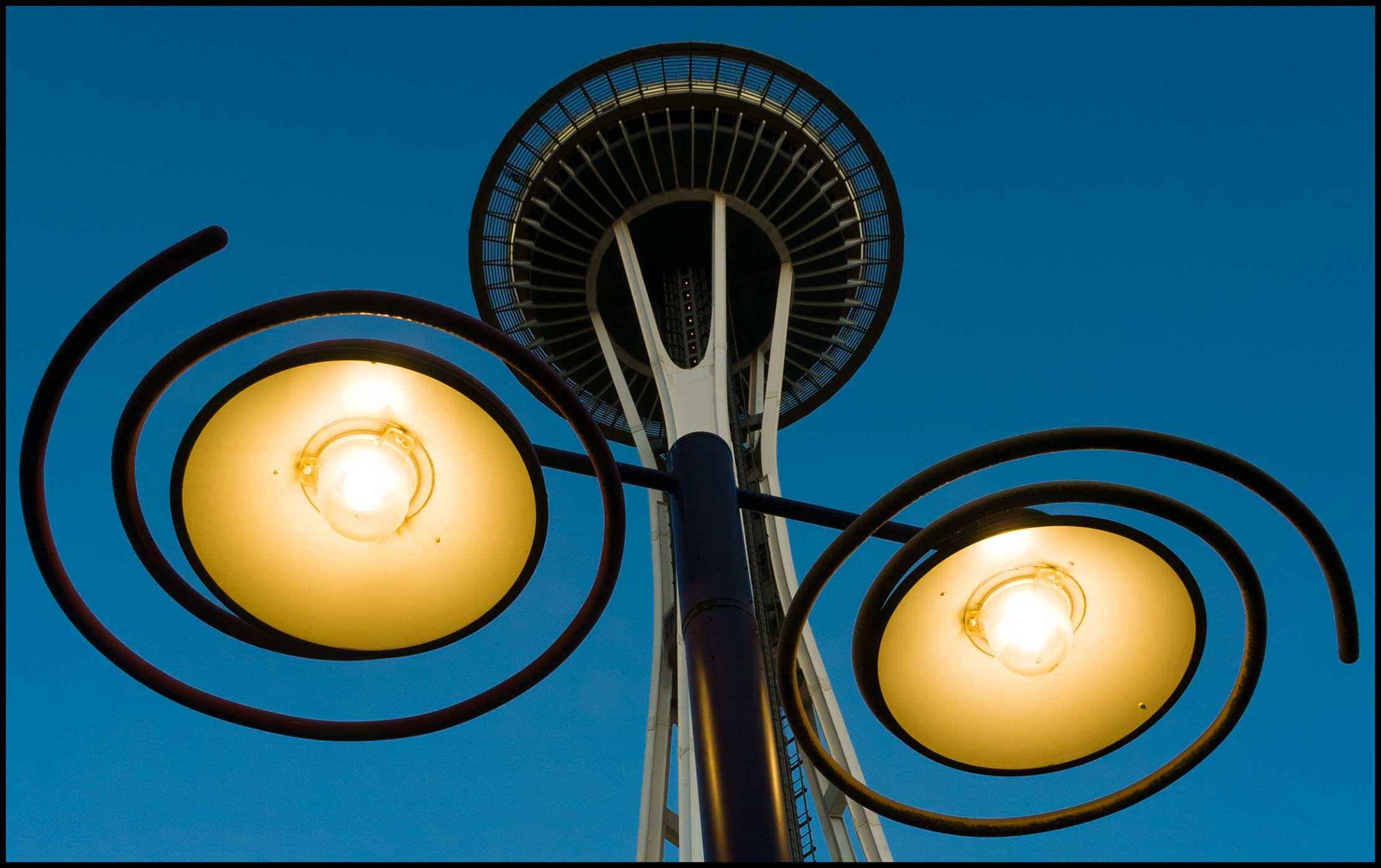 Seattle Space Needle by Skookum-Models