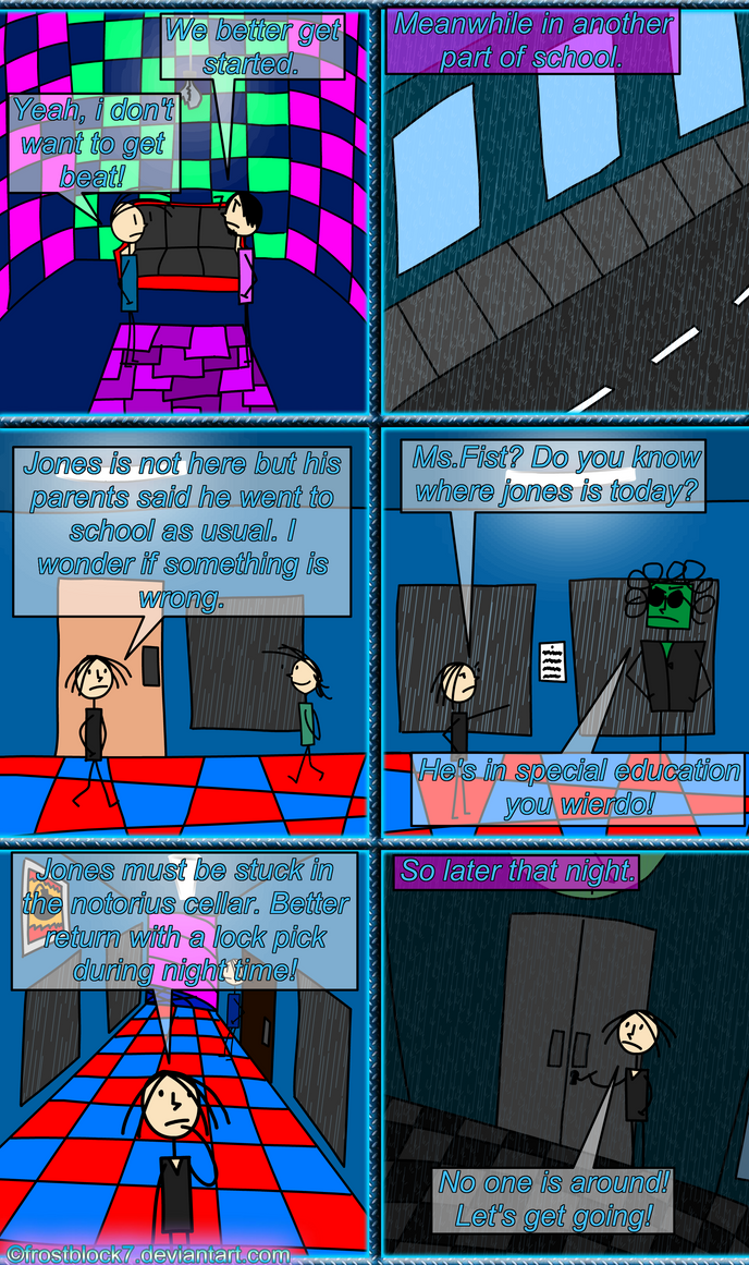 Have We Got Special Education All Wrong >> Comic Jones And The Evil School Teachers Page 5 8 By Frostblock7 On
