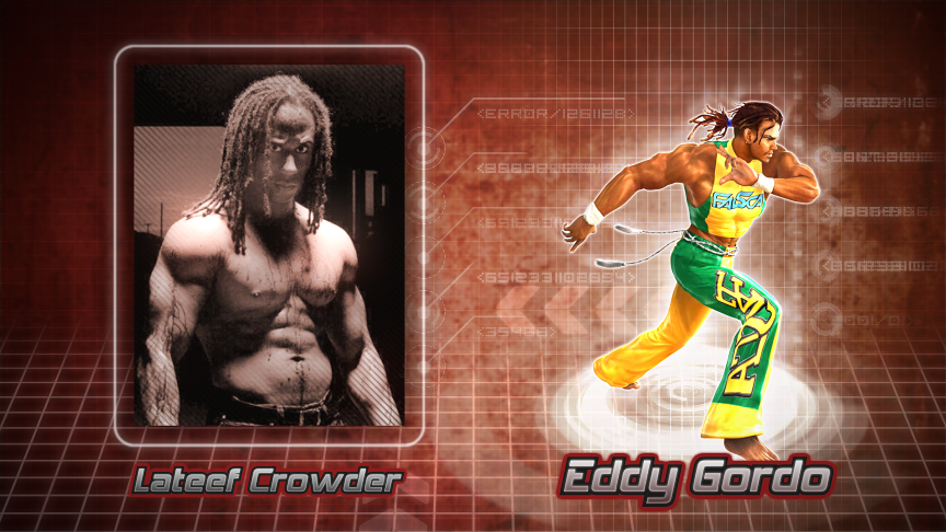 Tekken Movie - Eddy Gordo by vhience - 368.8KB