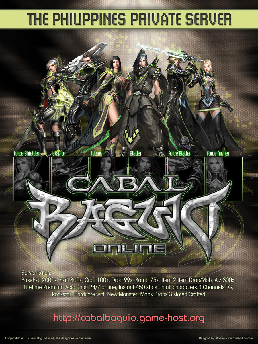 how to create cabal online private server