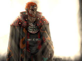 Twilight Princess Ganondorf by kacfrog711