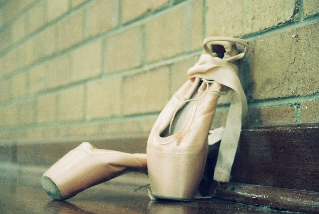 Ballet: Pointe Shoes I by angiepantz on DeviantArt