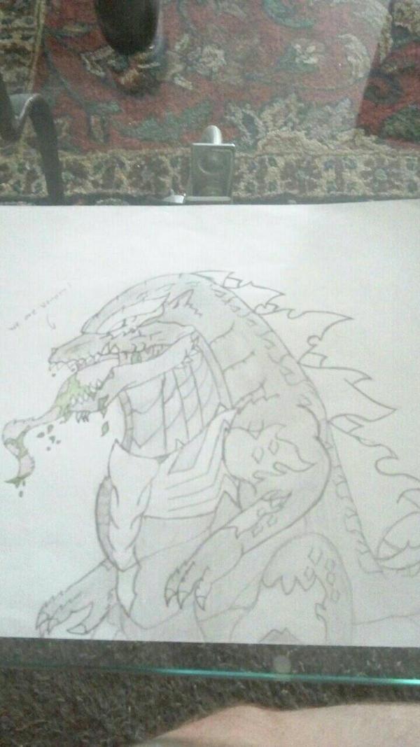 Venom Godzilla Version 2