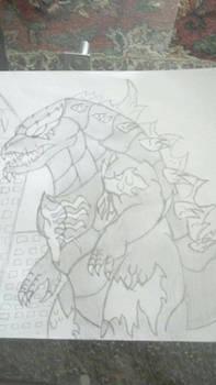 Venom Godzilla Version 1
